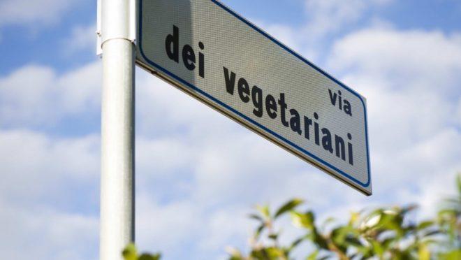 Cidade na Itália homenageia vegetarianos com nome de rua